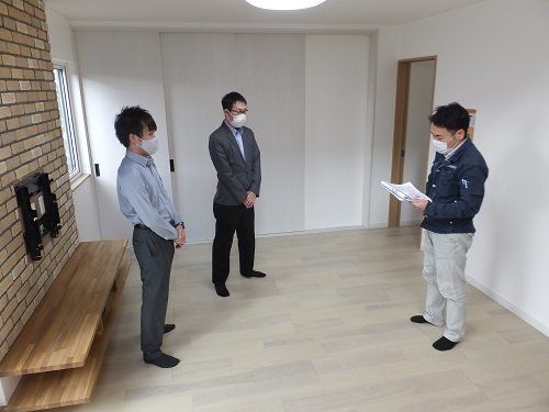 先週の社内検査は室蘭・絵鞆町にて!