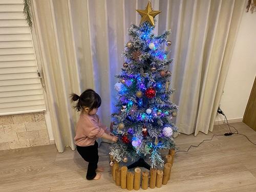<登別室蘭・棟方> クリスマスツリーを飾りました!