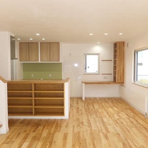 家事動線に優れた 4LDKの注文住宅