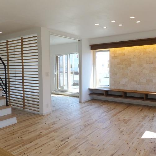 上質さと家事効率を充実させた セカンドリビングのある家