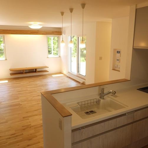 伊達市/毎日の暮らしを家族で楽しむ 住みやすい平屋のお家